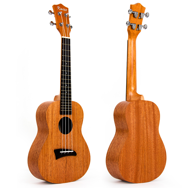 Kmise Concert Ukulele Mahogany Ukelele Uke 23 inch 18 Frets 4 String Hawaii Guitar with Aquila String ukulele 23 inch mini acoustic guitar concert ukelele 15 frets 4 string guitar string musical instrument