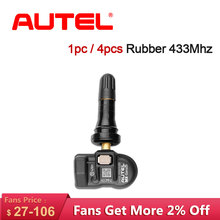 Autel TPMS Sensor 433mhz MX-Sensor 433MHZ TPMS Senor Interno Supports Tire Pressure Programming Monitor 315mhz 433MHZ Sensor autel maxitpms ts401 tpms diagnostic and service tool unparalleled sensor coverage quick access to the faulty tpms sensor