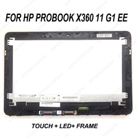 replacement 11.6 For HP ProBook X360 11 G1 EE LCD LED Display +Touch Screen Digitizer Assembly panel educational notebook