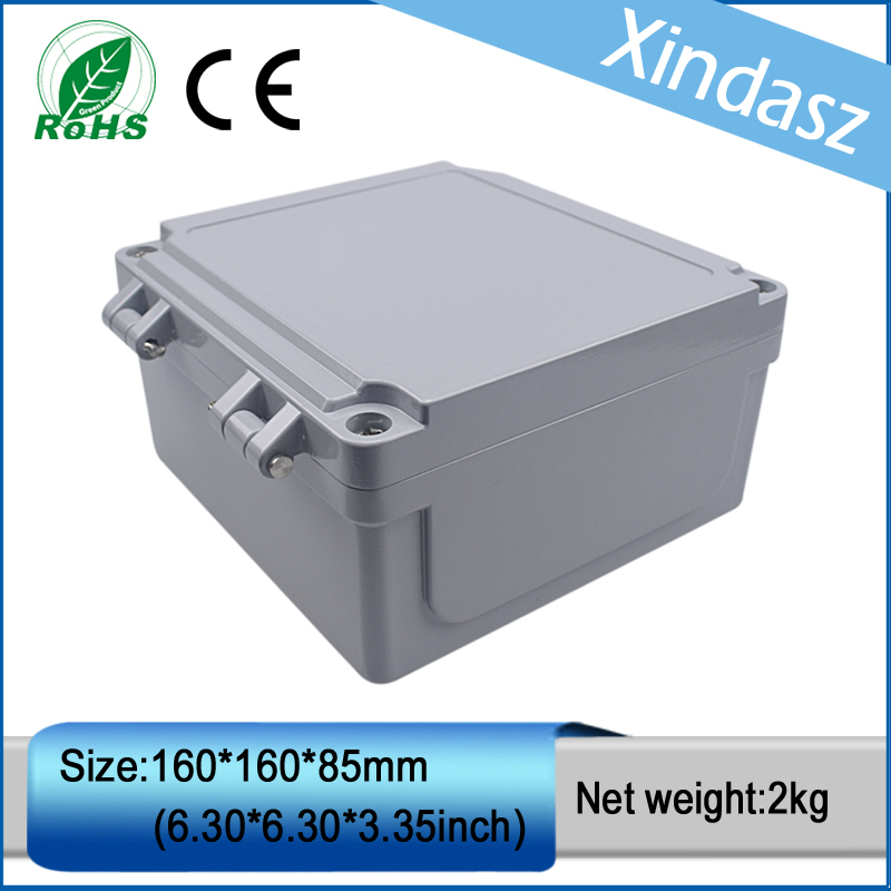 XD0201008 1pcs in stock 160*160*85mm IP66  die casting enclosure waterproof electrical junction boxes new in stock 6ri50p 160 50