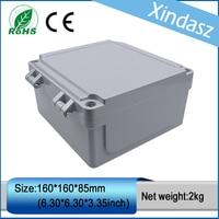 XD0201008 1pcs In Stock IP66 Die Casting Enclosure Waterproof Electrical Junction Boxes 160 160 85mm