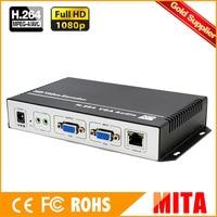 H.264 MPEG 4 AVC vga to ip codificador 1080p hd encoder to VLC Media Server Xtream Codes