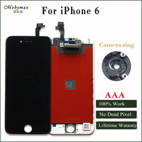 Mobymax AAA Quality LCD Screen For IPhone 6 Display Assembly Replacement With Original Digitizer Phone Parts