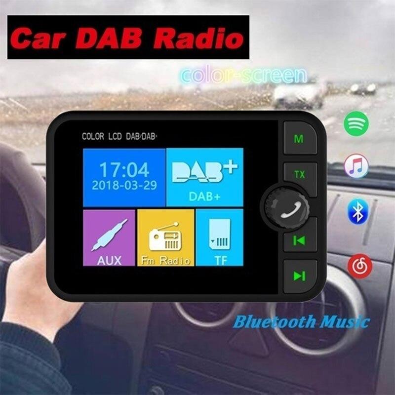 Mode Premium couleur DAB Radio voiture DAB Radio accessoires de voiture récepteur Radio numérique DAB Radio LCD affichage couleur-écran