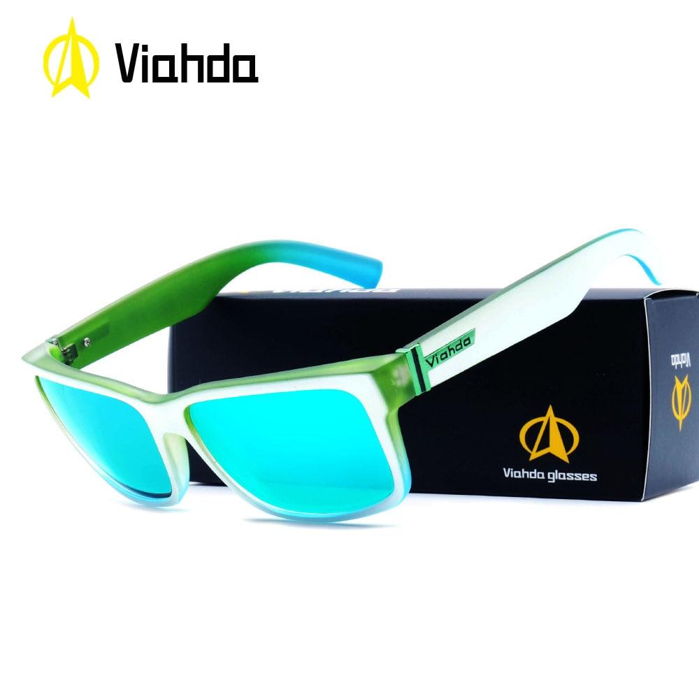 Viahda neue Mode Unisex Quadratische Vintage Sonnenbrillen Fahren ...