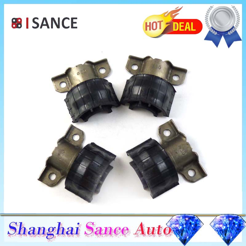 ISANCE 4PCS Front Suspension Sway Stabilizer Bar Bushing 1643231185 For Mercedes Benz W164 GL320 GL350 GL550