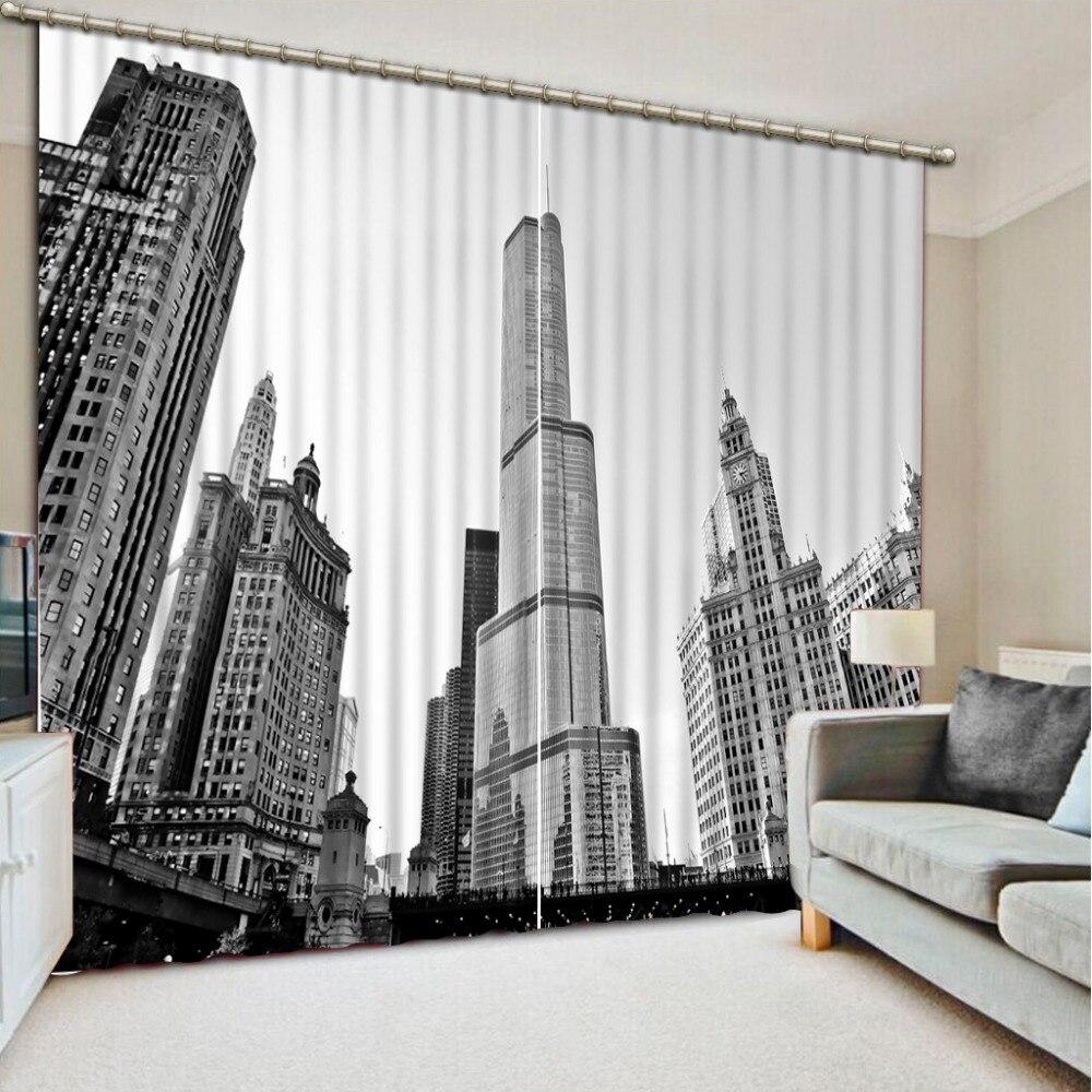 Online kaufen großhandel weiß room black vorhänge aus ...