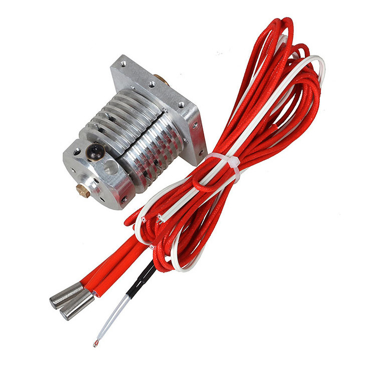 Fast Free Ship 3in1out extrusion head Red rabbit 3D printer nozzle mixed color Multi-nozzles print head 3d upgrade