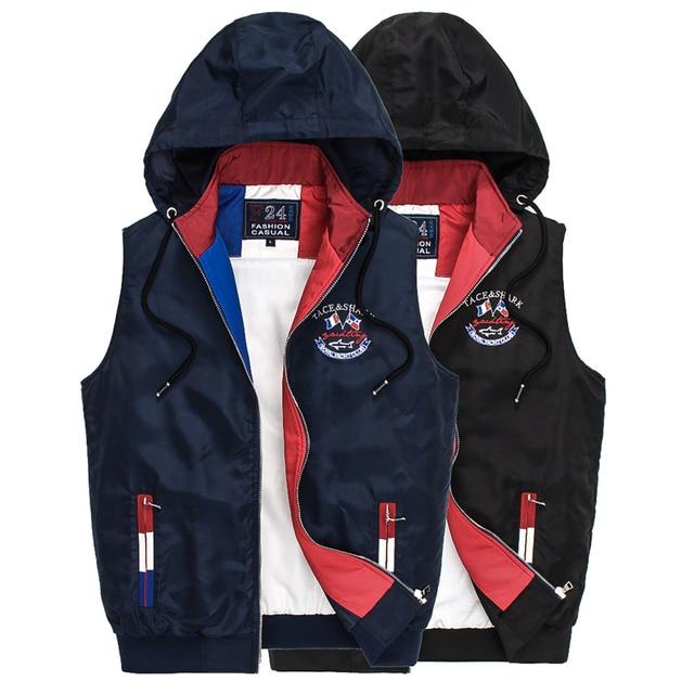 TACE & SHARK chaqueta de los hombres 2016 cotton-padded moda fresca comodidad bordado prendas de vestir exteriores de la tendencia de la puntada abierta envío gratis