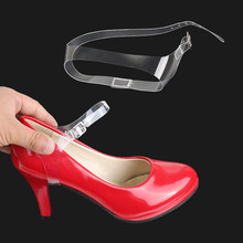 1 Pair Invisible Shoe Straps for Loose Shoes High Heels Ballrom Wedding Pump Shoes Anti-loose Strap 18cm(China)