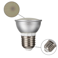 10Pcs 3W E27 LED Spotlight Spot Light Lamp Bulb 3014 SMD Dimmable Three Color Temperature AC