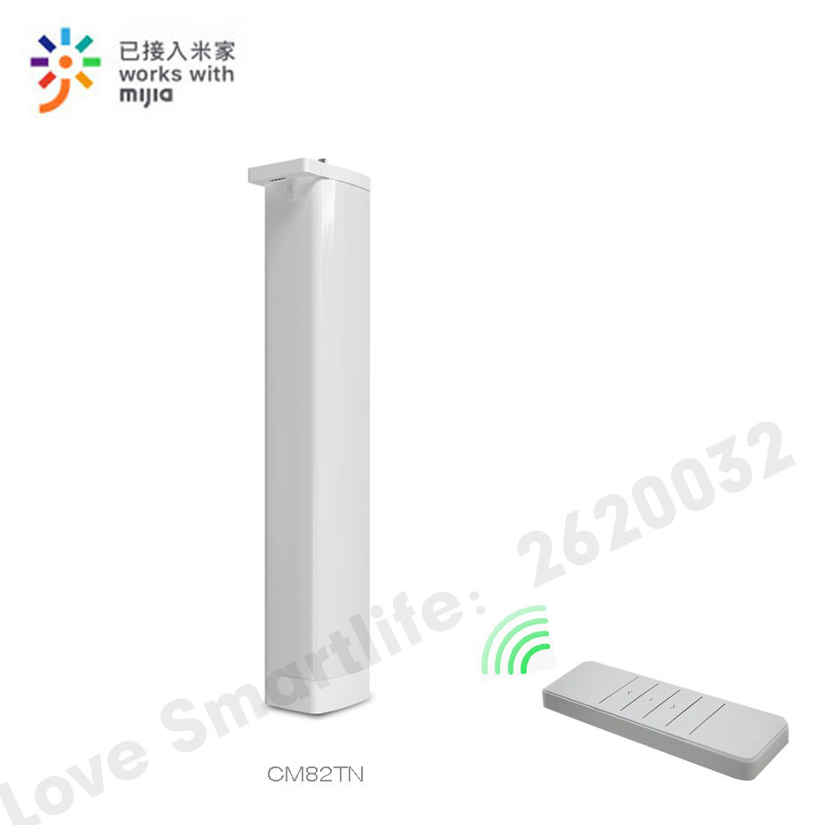 Eruiklink CM82TN Smart wifi Remote Curtain Motor,Mi-Home App/RF433 control+Voice Control via Xiaomi Ai Speaker,work with Mijia