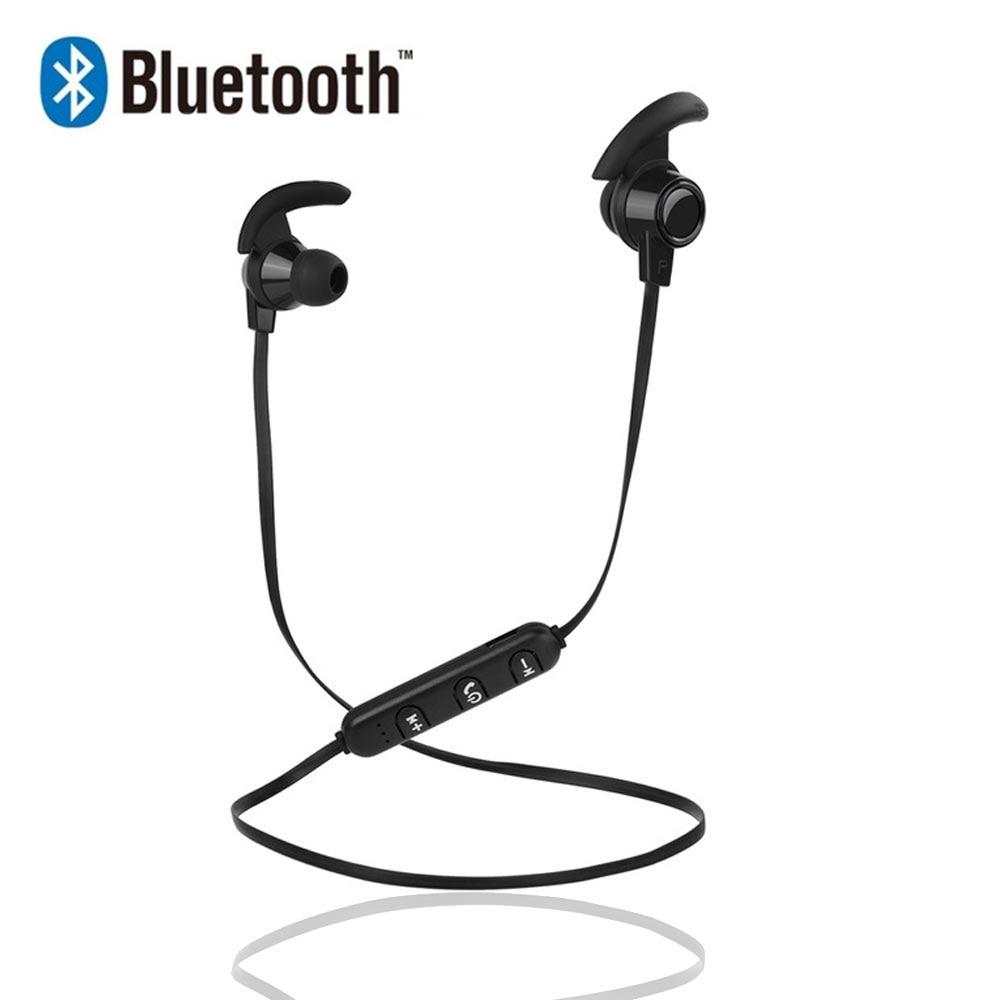 משיכה מגנטית Bluetooth אוזניות אוזניות עמיד למים ספורט 4.2 עם טעינת כבל צעירים אוזניות Build-in מיקרופון