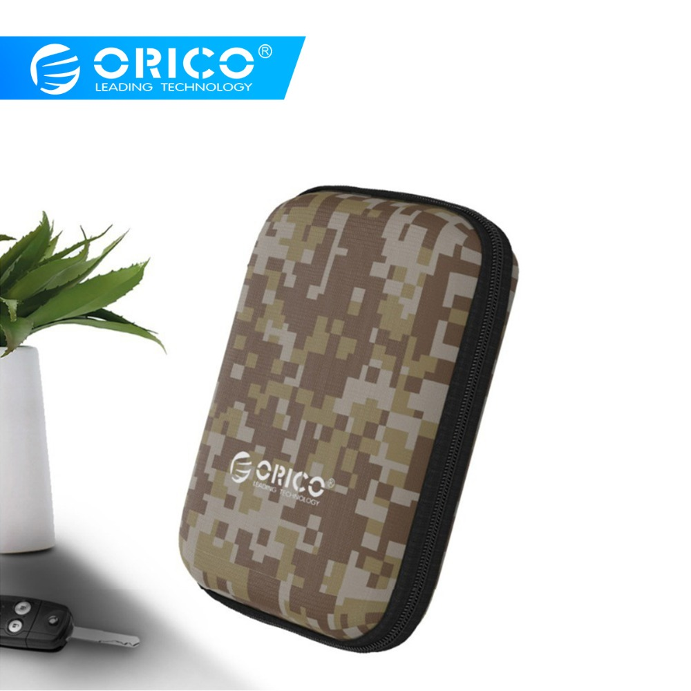 ORICO 2.5 HDD/SSD Box Bag Case Portable Hard Drive Bag For External Portable HDD Usb Cables Power Bank Chargers Card Readers
