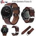 22 millimetri In Pelle Cinturino Cinturino Quick Fit per Garmin Fenix 6/5/5 Plus/Forerunner 935 Smart braccialetto di Sport Della Fascia di Ricambio Wristband
