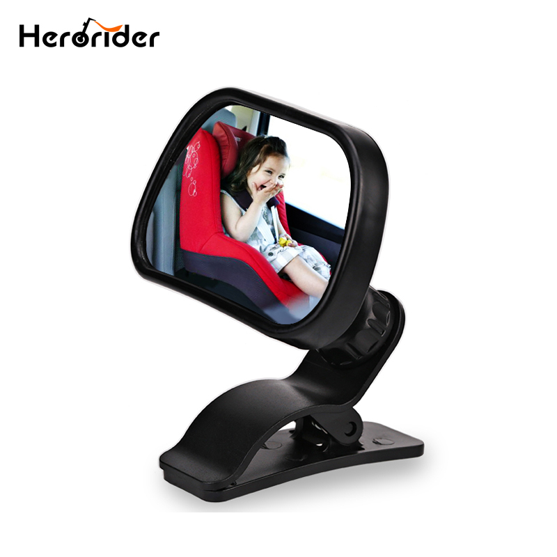 Herorider Baby Rearview Mirror Baby Safety Seat Car Baby Child Kids Rear View Mirror Safety Reverse Safety Seats Mirror