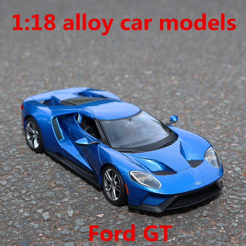 1:18 alloy car models,high simulation Ford GT sports car,metal diecasts,freewheeling,the childrens toy vehicles,free shipping ...