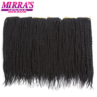 Mirra's Mirror 1418 Synthetic Braiding Hair Ombre Senegalese Twist Hair Crochet Braids Hair 20Roots/Pack