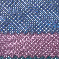 Synthetic PVC Silver Glitter Leather Fabrics