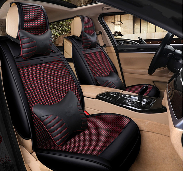 high quality full set car seat covers for new hyundai tucson 2017 2016 comfortable fashion. Black Bedroom Furniture Sets. Home Design Ideas