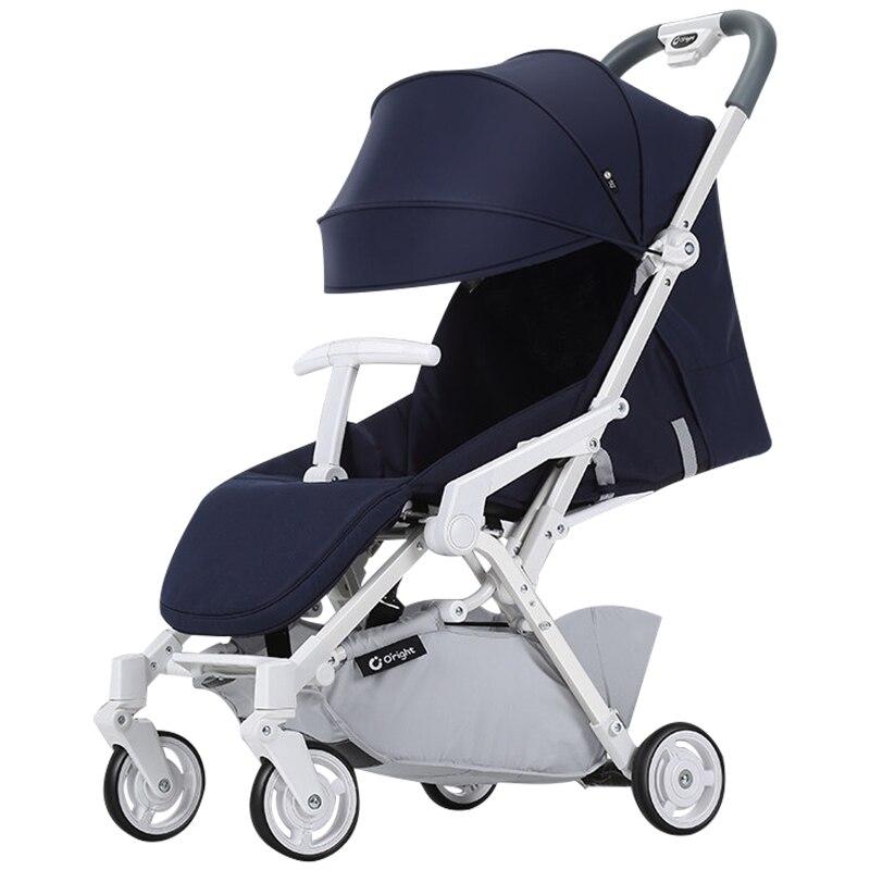 Oright Baby Stroller Light Folding Sitting Portable Mini Ultra light Baby Umbrella Carriage travel stroller