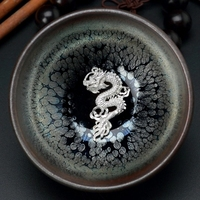Ceramic 3D Kung Fu Tea Cup with Gift Box