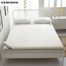 Quilted Thickness Mattress with Rubber/fillings/pad thin sanding cotton for four Seasons mattress topper