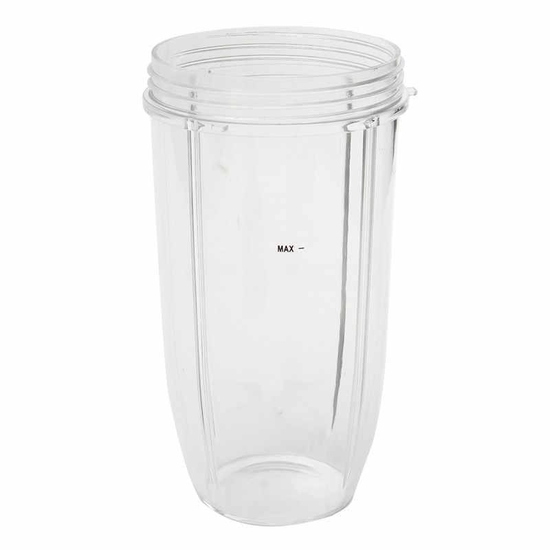 Plástico de Borracha de Metal Espremedor de Aço Inoxidável Conjunto de Peças De Reposição Liquidificador Jar xícara + Tampa Flip Top + Extrator de Lâmina + 2 Equipado juntas