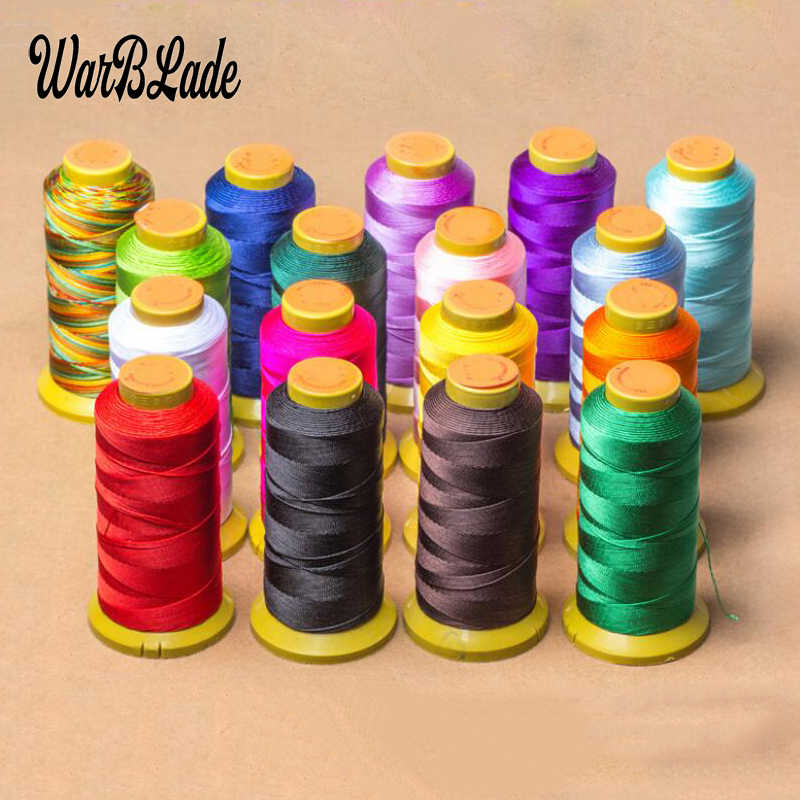 High Quality Polyamide Cord 0.2mm 0.4mm 0.6mm 0.8mm 1mm Nylon Cord Sewing Thread Rope Silk Beading String For DIY Jewelry Making