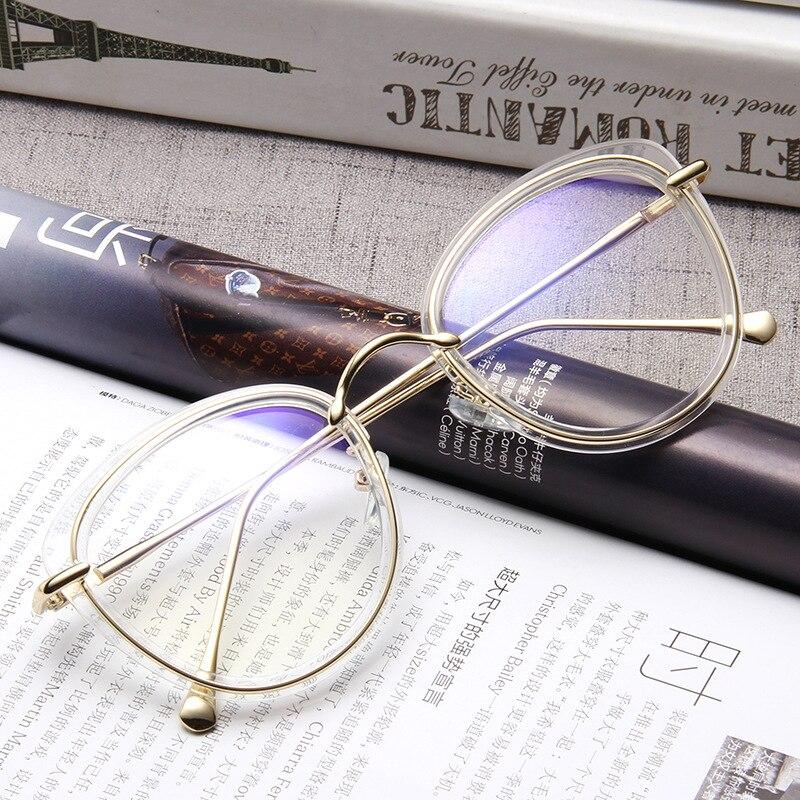 GroßZüGig Mincl/2017 Gläser Frau Kontur Computer Optische Gläser Weibliche Transparente Linse Armacao Okur Ross De Lxl Damenbrillen Brillenrahmen