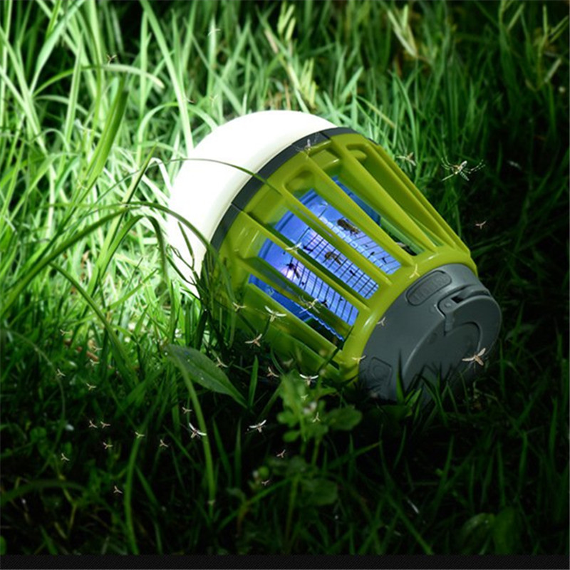 Electric Shock Mosquito Killer Lamp LED Solar Powered Camp Tent Bulb Light No Radiation Mosquito Trap Waterproof Outdoor Decor electric shock mosquito killer lamp led solar powered camp tent bulb light no radiation mosquito trap waterproof outdoor decor