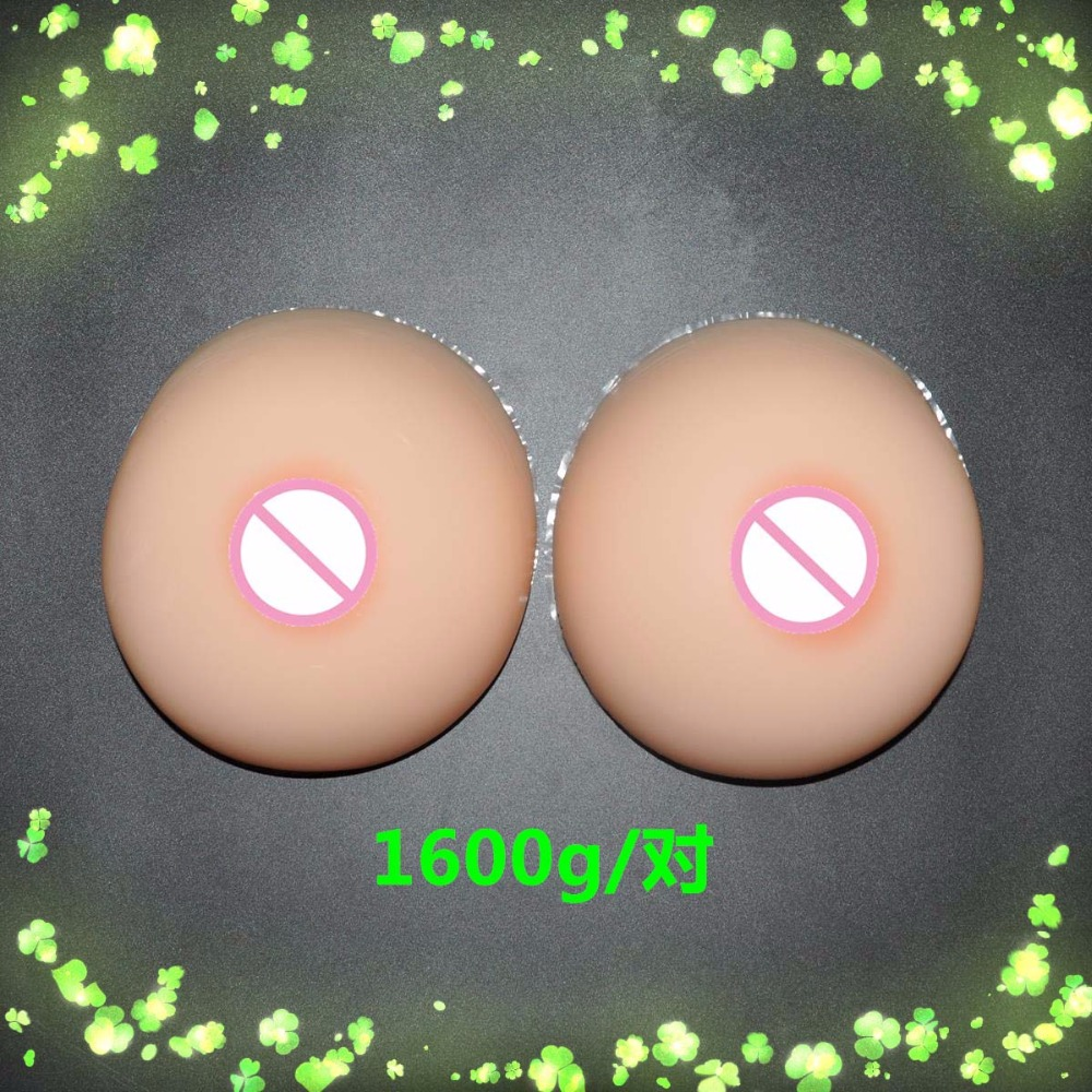 1600g/pair E cup size large Shemale fake silicon breasts Men's Breast Enhancer suntan nude light skin realistic new here 1600g top quality white tear drop silicon breasts enhancer false boobs for shemale