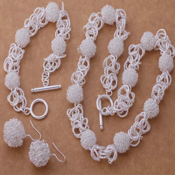 925 Silver Silver Sets Of The Korean Tennis Bracelet