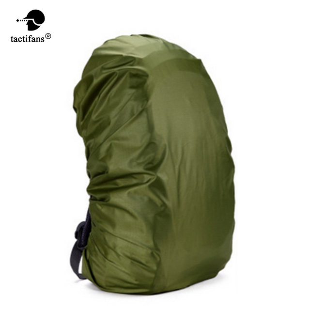 210D Camo Bag Rain Cover 80L Protable Waterproof Anti-tear Dustproof Anti-UV Backpack Camping Hiking Silver Coating 8 Colors 210d rain bag 30 40l protable nylon waterproof backpack anti theft outdoor travel camping hiking cycling dust rain cover