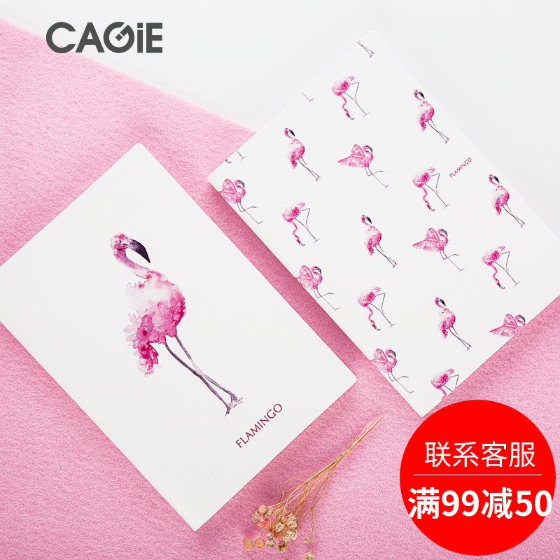 A5 PU Leather Cover Planner Notebook Flamingos Journal Diary Book Exercise Composition Binding Note Notepad Gift Stationery kokuyo hotrock binding notepad soft copy a5 80wcn n1081 page 7