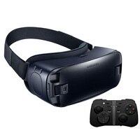 VR 4.0 מציאות מדומה הילוך 3D משקפי samsung Galaxy S9 S9Plus S8 S6 S8 + S6 S7 s7 S6 + קצה קצה קצה + Bluetooth Gamepad