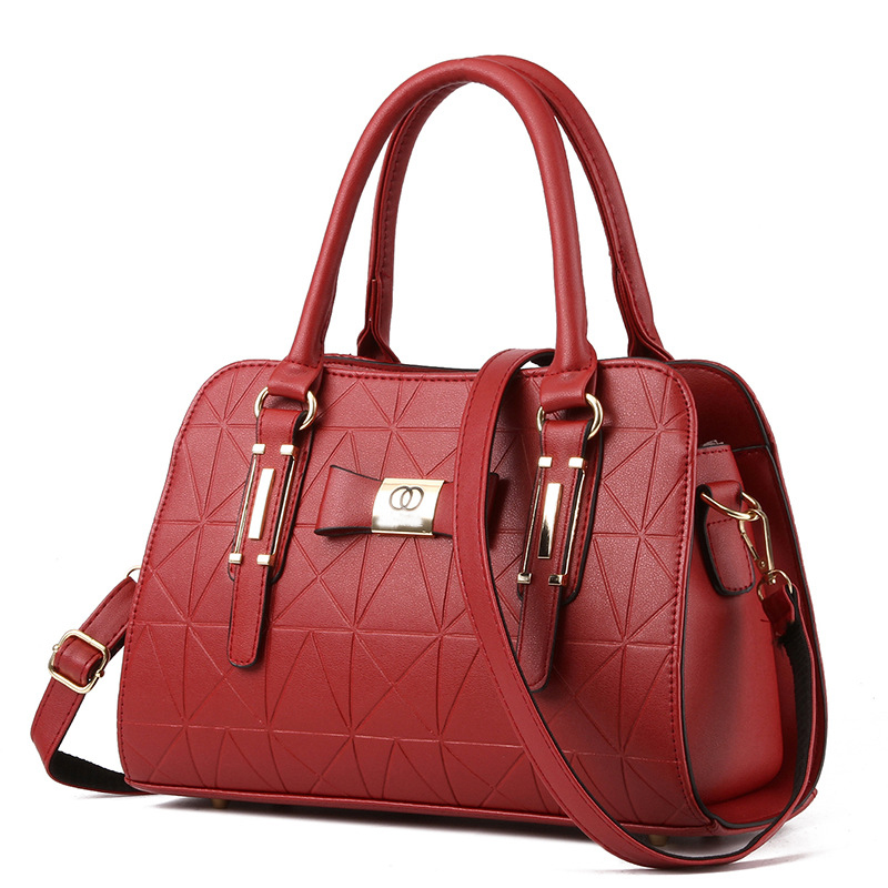 mulheres bolsas lady pu leather Tipo de Estampa : Geométrica