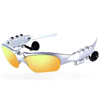 Headset Wireless Glasses Multi-function Ultra Small Camera Night Vision Bluetooth Smart Sun Belt Camera Electronics High Black T