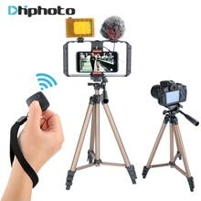Ulanzi 50inch Aluminum Smartphone Tripod Compact Travel Monopod for iPhone X Samsung Mobile DV camera YouTube Filmmaker Vlogger