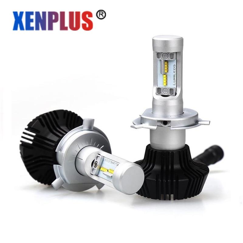 G7 LED Headlight H4/9003/H1/H3/H7/9005/9006/H8 H9 H11 HB3 HB4 Conversion Kit 6500k High & Low Beam Car light bulbs 12V