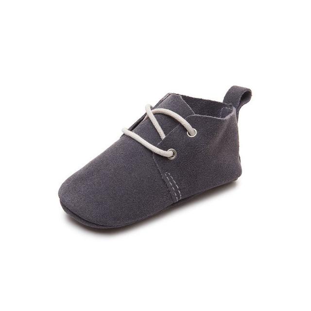 Handmade fabuloso Oxford zapato de bebé