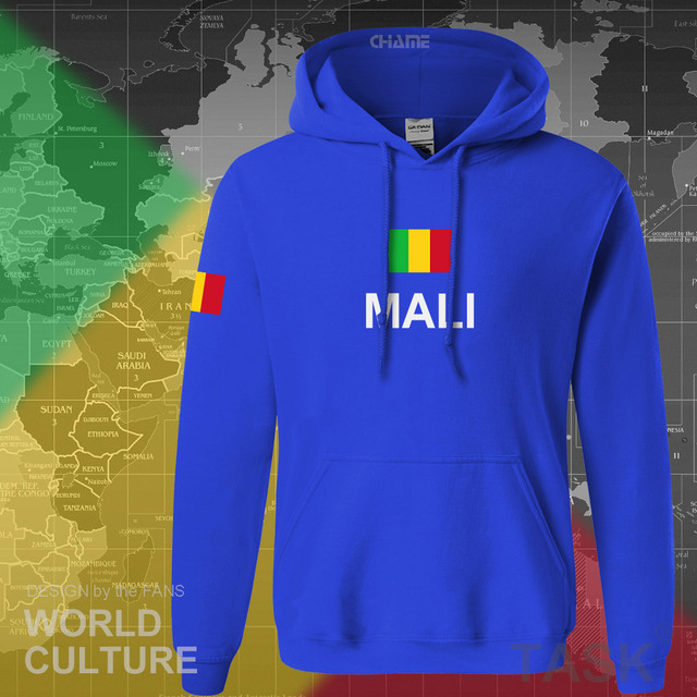 Republic of Mali hoodie men sweatshirt sweat new hip hop streetwear tracksuit nation footballer sporting country MLI Malian 2