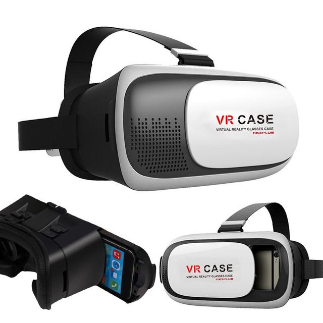 For Google Cardboard VR Case Version VR Virtual Reality 3D Glasses Headset for Iphone 5 5c 5s 6 6s Plus Samsung Edge SmartPhone