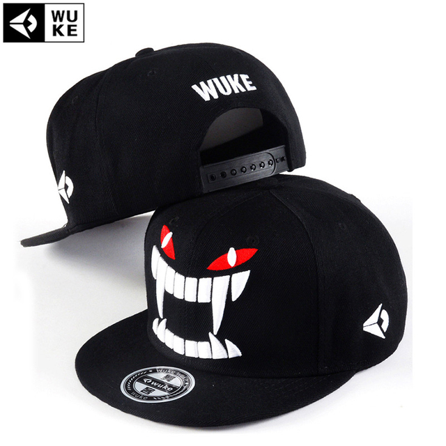 0776809a0e3 2016 New Cayler Large Fang Baseball Cap Men And Woman Bones Snapback Hip  Hop Fashion Flat