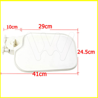 Dental Plastic Post Mounted Shelf Tray Table Dentistry Chair Accessories for Dental Chair unit
