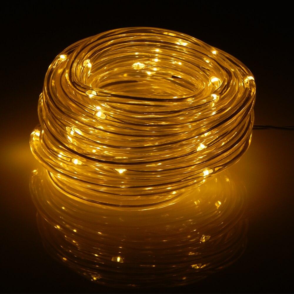 5m 50 Leds Battery Operated Led Rope Tube String Lights