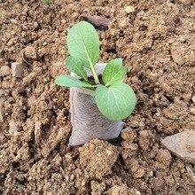 100 шт кассеты для рассады-мешки для растений окружающей среды нетканые ткани Садовые принадлежности