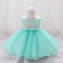Summer Childrens Clothing Infant Elegant Princess Evening Dress Wedding Flower Girl Cute