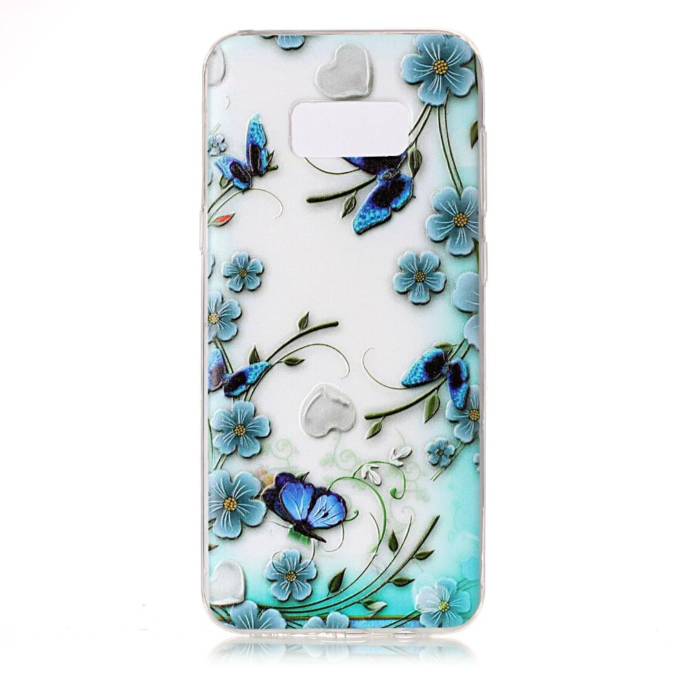 JURCHEN Silicone Case For Samsung Galaxy S8 Plus / S7 Edge Phone Case Cover For Samsung Galaxy S7 S7 Edge S8 S8 Plus Coque Funda