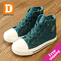 Novo 2014 primavera / outono sapatos kids & sapato infantil Respirável sapato menino  Lona CEP / Amarre sapato menina Tecido de algodão sapato sapatos meninas & tenis para meninos & tenis infantil menino DTK131